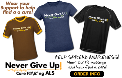 Never Give Up Tshirts